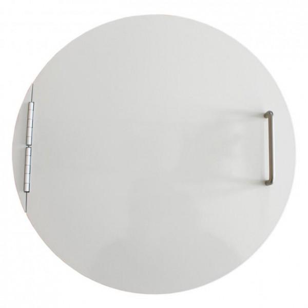Einwurftür mit Bügelgriff und Magnetschnapper