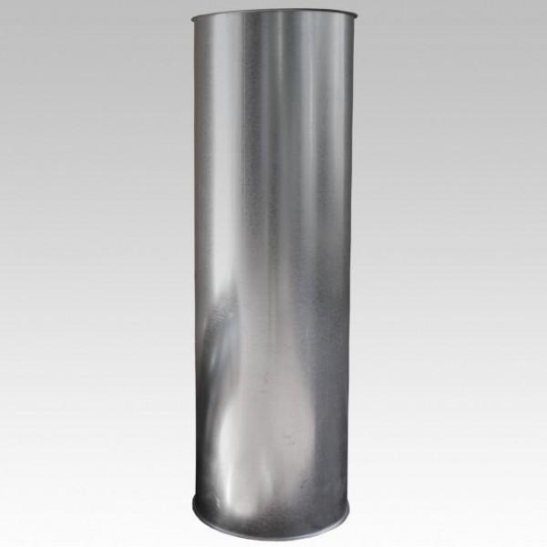 Wäscheschachtrohr Metall in 1 Meter Länge
